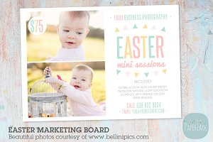 IE008 Easter Marketing Board