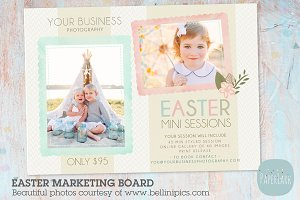IE007 Easter Marketing Board