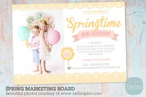 IE011 Spring Marketing Board