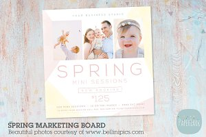 IE016 Spring Marketing Board