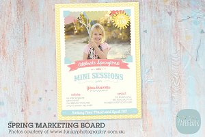 IE004 Spring Marketing Board
