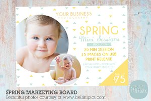 IE012 Spring Marketing Board