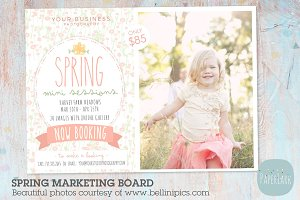 IE006 Spring Marketing Board