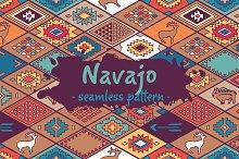 Navajo pattern set