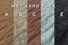 Wet Sand Pack (Tileable) by  in Dirt