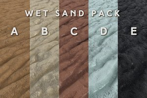 Wet Sand Pack (Tileable)