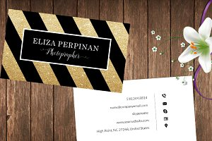 Gold Style Business CARD