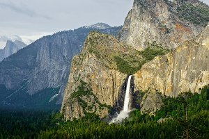 Bridal Falls Illumination, Yosemite