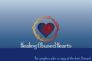 Healing Abused Hearts + font