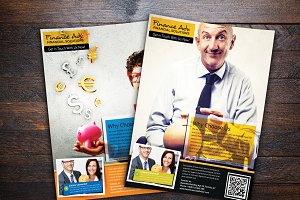 Business Financial Advisor Flyer