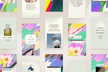Instagram Colorful Template & Quotes by  in Social Media