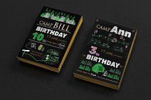 Set invitations for birthday