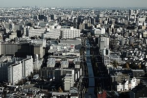 Tokyo from above!