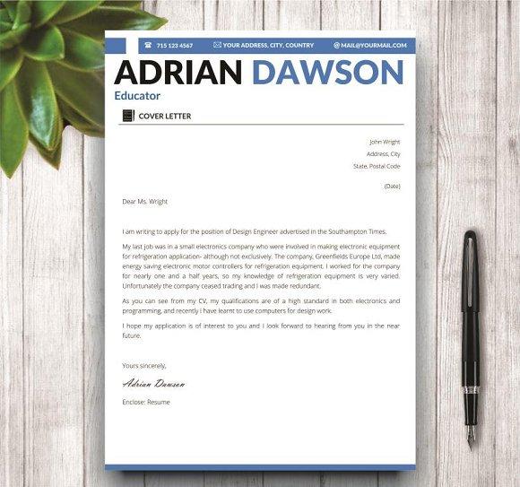 Professional Resume Template ~ Resume Templates ~ Creative Market