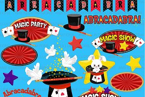 Magic Show Clipart AMB-1193