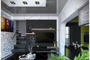 Living Room Minimalist Style