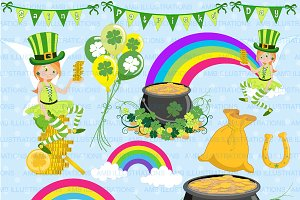 St. Patricks Day Clipart AMB-1184