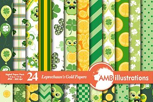 St. Patricks Day Papers AMB-827