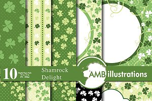 Shamrock Digital Papers AMB-442