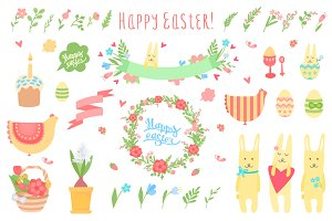 Easter Set + 8 spring patterns