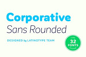 Corporative Sans Rounded - 30% off