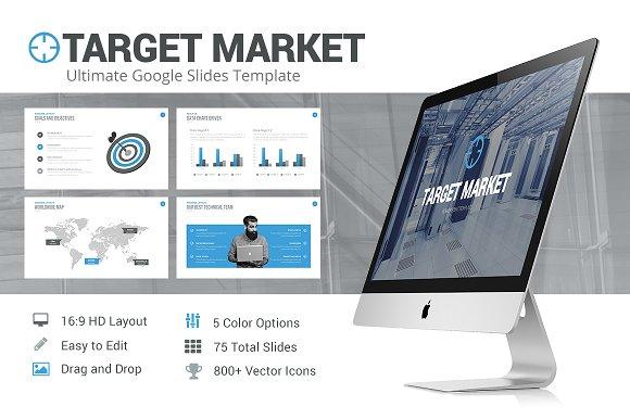 target market google slides template presentation templates