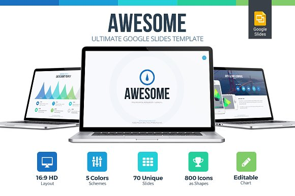 30 creative google slides templates for your next presentation awesome google slides template fandeluxe Gallery