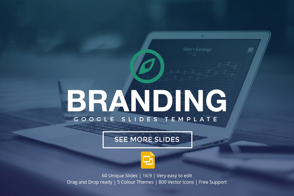 Branding Google Slides Template Presentation Templates Creative Market