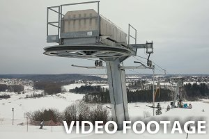 mechanism of the ski lift