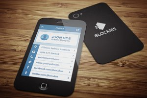 Smart Phone Business Card V.3