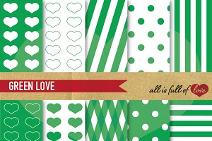 Greenery Digital Background Paper