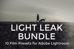 Light Leak Preset Set for Lightroom