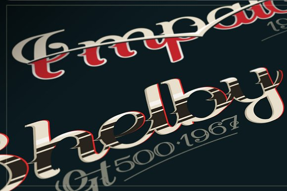 SPINA Script in Script Fonts - product preview 6