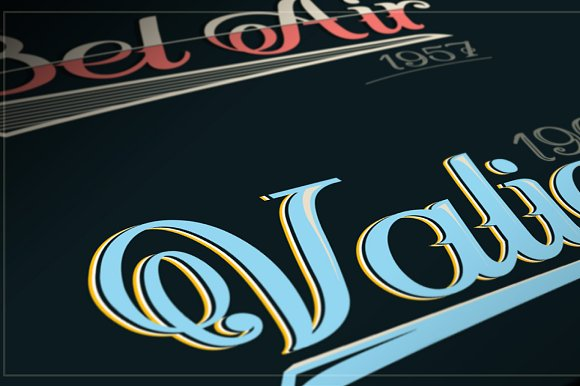 SPINA Script in Script Fonts - product preview 7