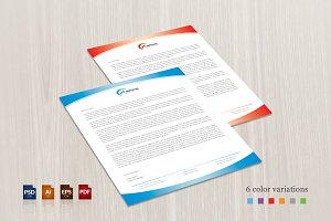Light Corporate Letterhead