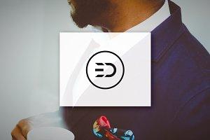 [68% off] ED - Letter Logo