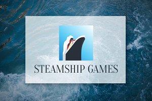 [68% off] Steamship - Logo Design