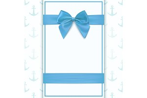 Greeting card template for a boy.
