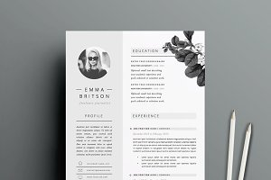 Resume Template 5 page pack | Petal