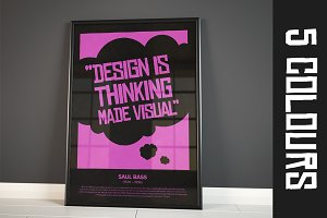 Saul Bass Quote Posters A1