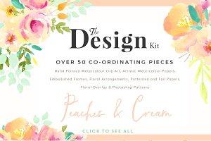 The Design Kit - Peaches & Cream
