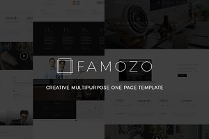 Famozo - PSD Template
