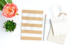 Styled Stock Photography - Notebook