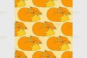 funny Fox pattern