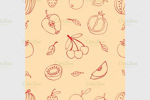 Fruit doodles