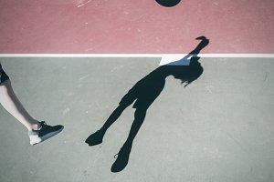 Basketball and Shadows