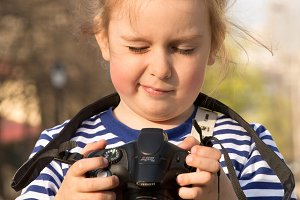 The child - photographer