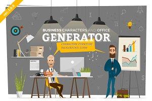 Business Scenes Generator