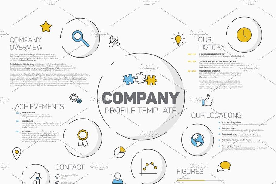 Modern Company Profile Template