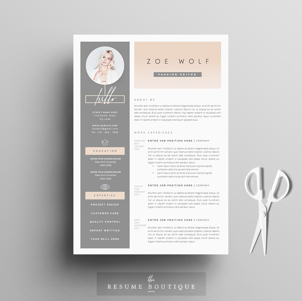 Cute Resume Templates Examples Sales Free Word Doc ...
